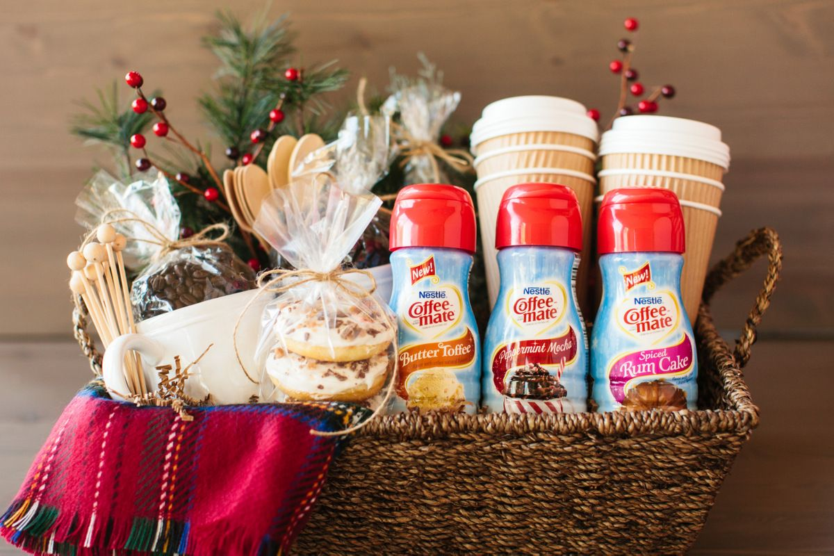 Coffee Holiday Gift Basket Holiday gift baskets