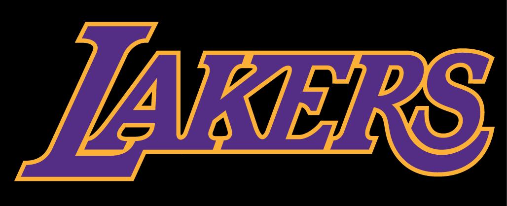 Font Of The Lakers Logo Los Angeles Lakers Logo Logos
