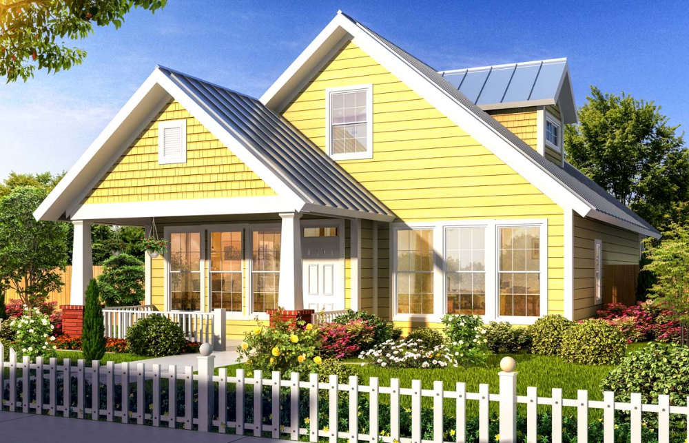 Plan 40514wm Flexible Two Story Cottage In 2020 Craftsman House Plans Bungalow House Plans Cottage House Plans