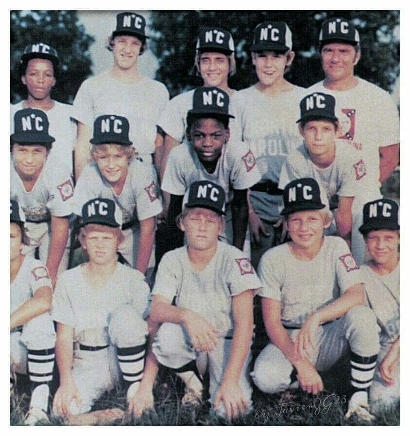 The GOAT as a little leaguer in Wilmington, North Carolina.