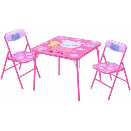 Peppa Pig Table And Chairs Set Walmart Com Kids Table And