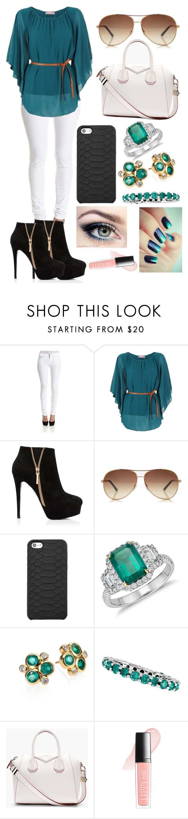 """""""untitle #13"""" by jsaraid ❤ liked on Polyvore featuring Ralph Lauren, Forever New, Tom Ford, GiGi New York, Blue Nile, Temple St. Clair, Morris & David, Givenchy and Butter London"""