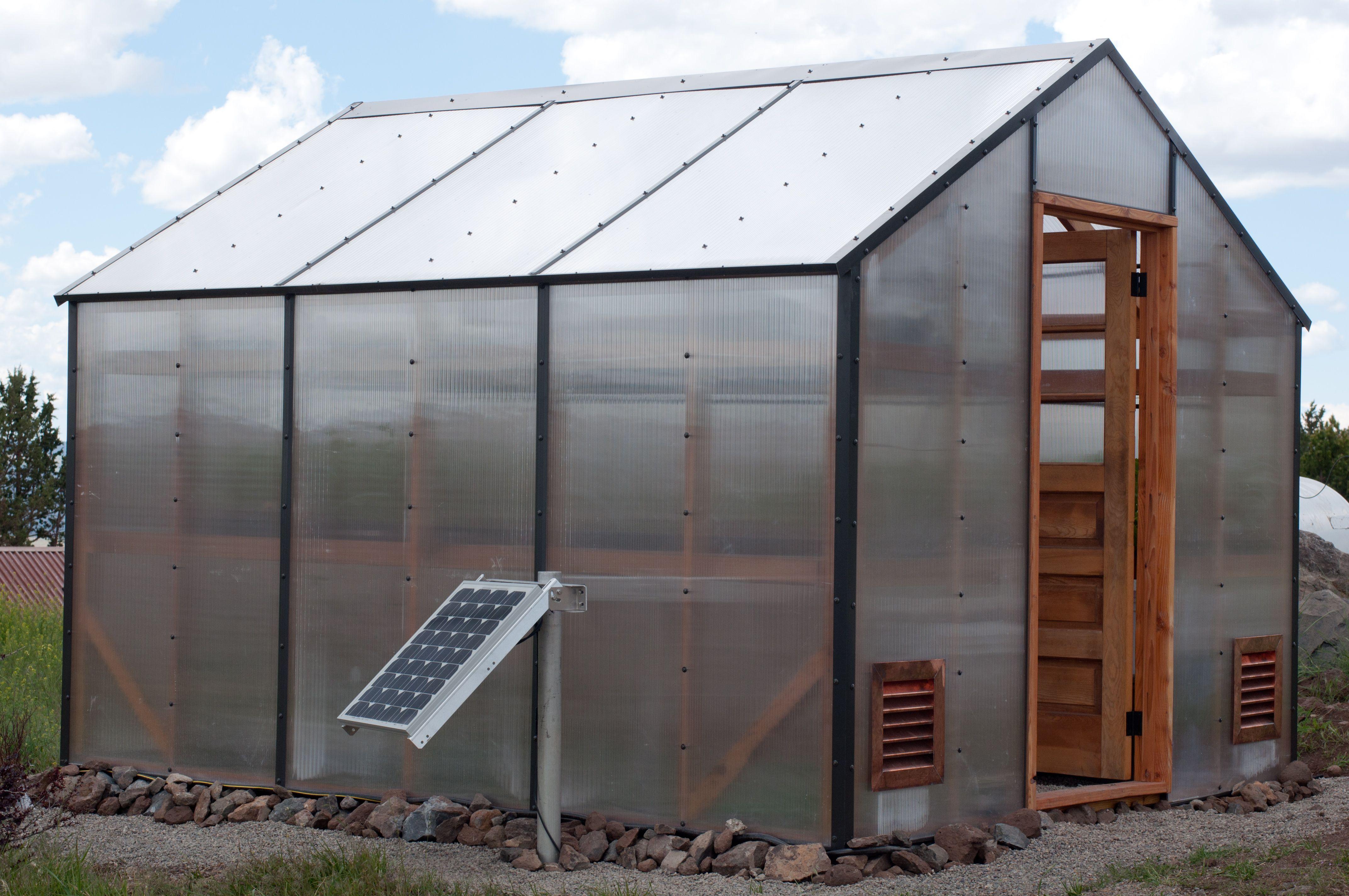 Solar Powered Greenhouse Ventilation Fan | Sevenstonesinc.com on