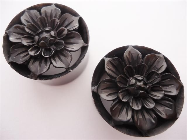 Dahlia flower plugs 0 gauge 1 inch plugs pinterest dahlia dahlia flower plugs 0 gauge 1 inch mightylinksfo