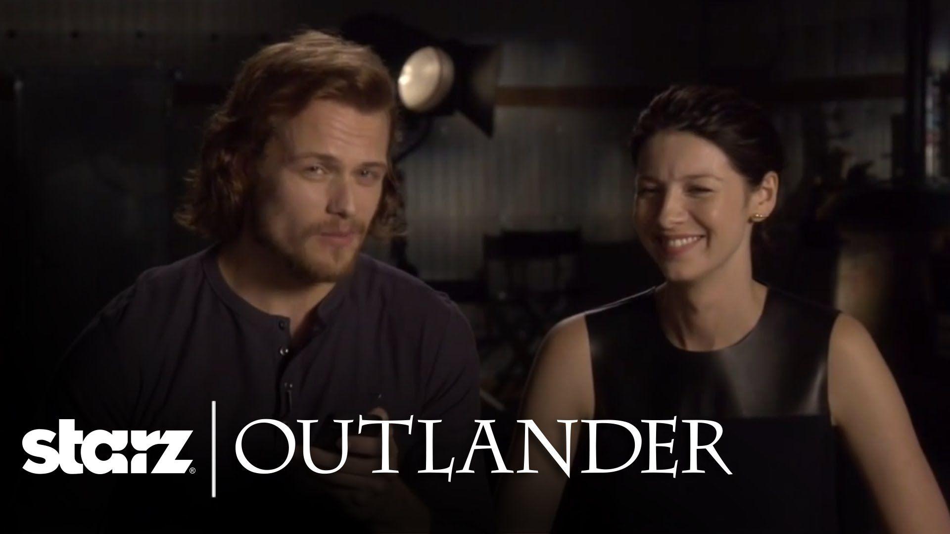 Outlander   Sam & Caitriona Read Your Tweets   STARZ