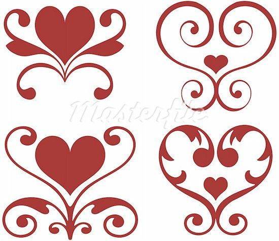 Cute designs to draw 1 hearts love pinterest clip for Cute easy patterns to draw
