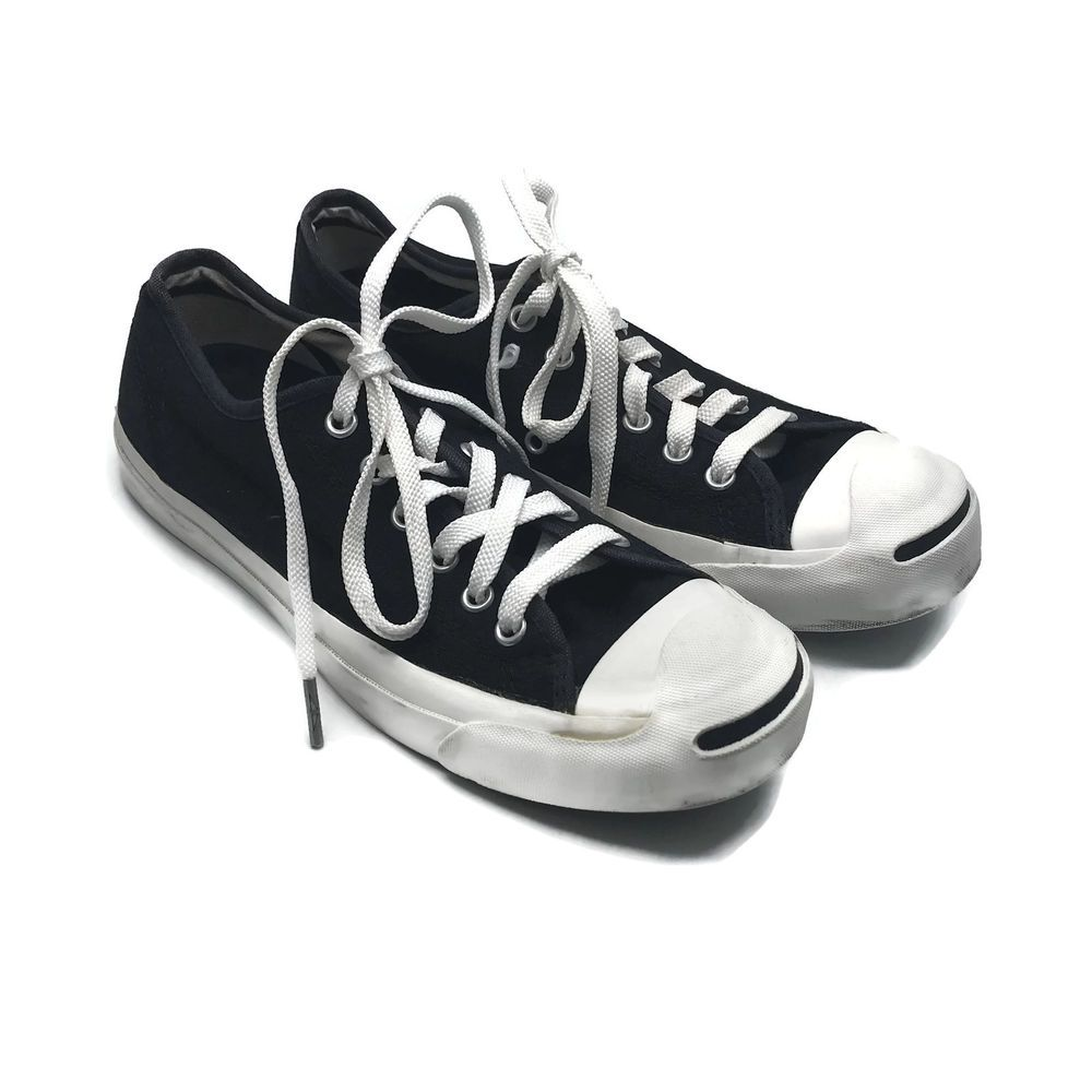 0a536c3e6e3f76 Converse Jack Purcell Black Low Top Sneakers Shoes Women s 8 Men s 6.5  China  Converse  Skateboarding