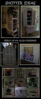 Photo of #decorrepurposed #annieshutters #designsalley #repurposed #footboard –