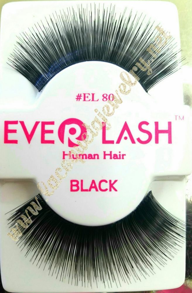 834427e1581 5 pairs Everlash False Eyelashes Makeup Natural Fake Thick Black Eye Lashes  EL80…