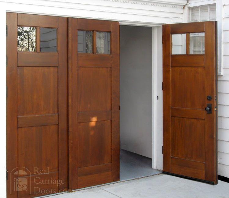 Bi Folding Doors Or Accordian Doors By Real Carriage Door Company