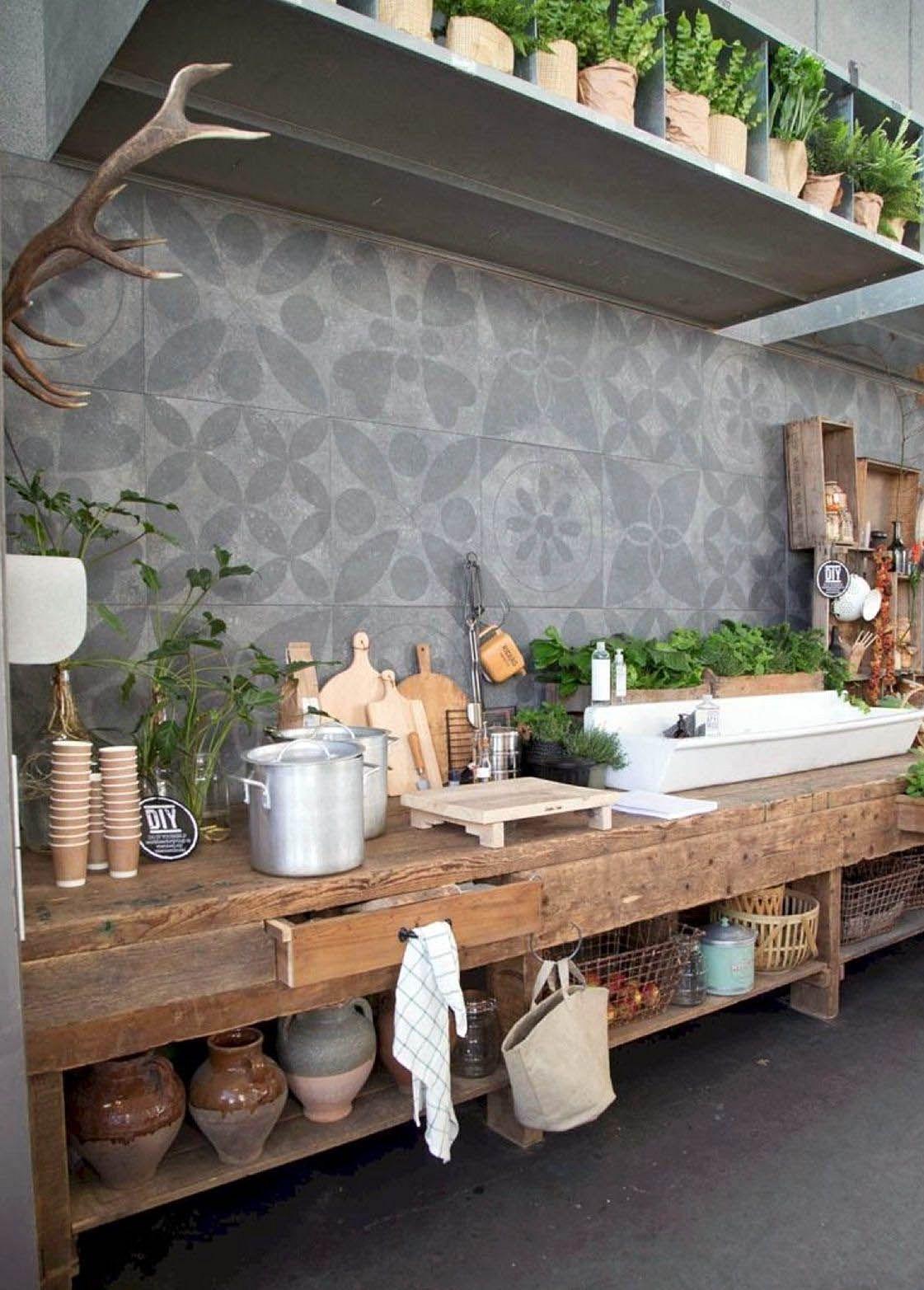 12 Inspiring Outdoor Kitchen Ideas For Enjoying Your Winter Season Outdoor Kitchen Outdoor Kitchen Countertops Outdoor Kitchen Design
