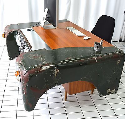 land rover office desk custom bespoke up-cycled car furniture hand