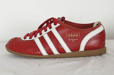 adidas Saigon in red leather getting rare now Schoenen