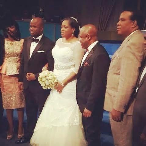 KENZYLIVE: Photos from gospel singer Sinach's church wedding