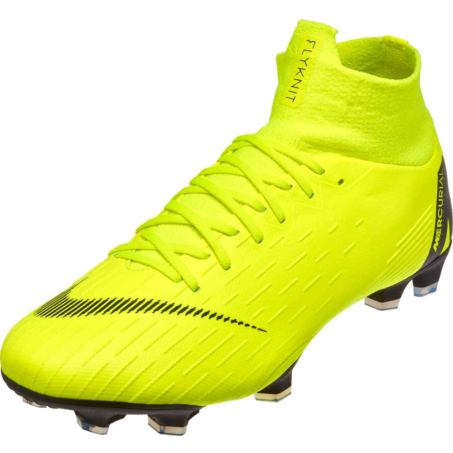 dc9e3e344 Nike Mercurial Superfly 6 Elite FG – Volt Black
