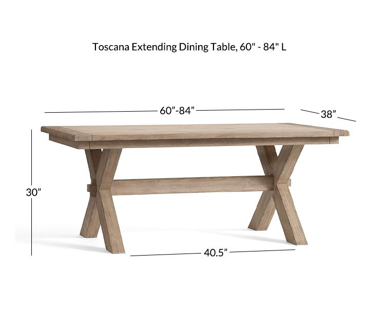 Toscana Extending Dining Table Seadrift In 2020 Extendable Dining Table Dining Table Dining Table Rustic