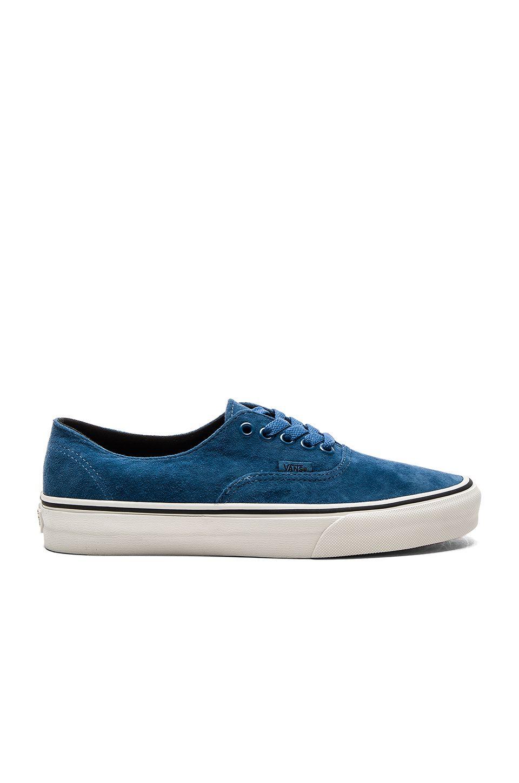 vans azules hombre