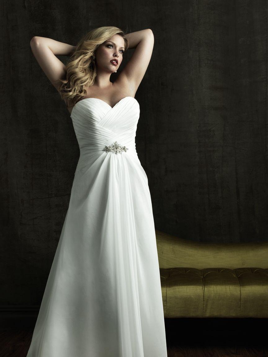 Geniale Brautkleider für die mollige Frau 2016: Weiblichkeit ist ...