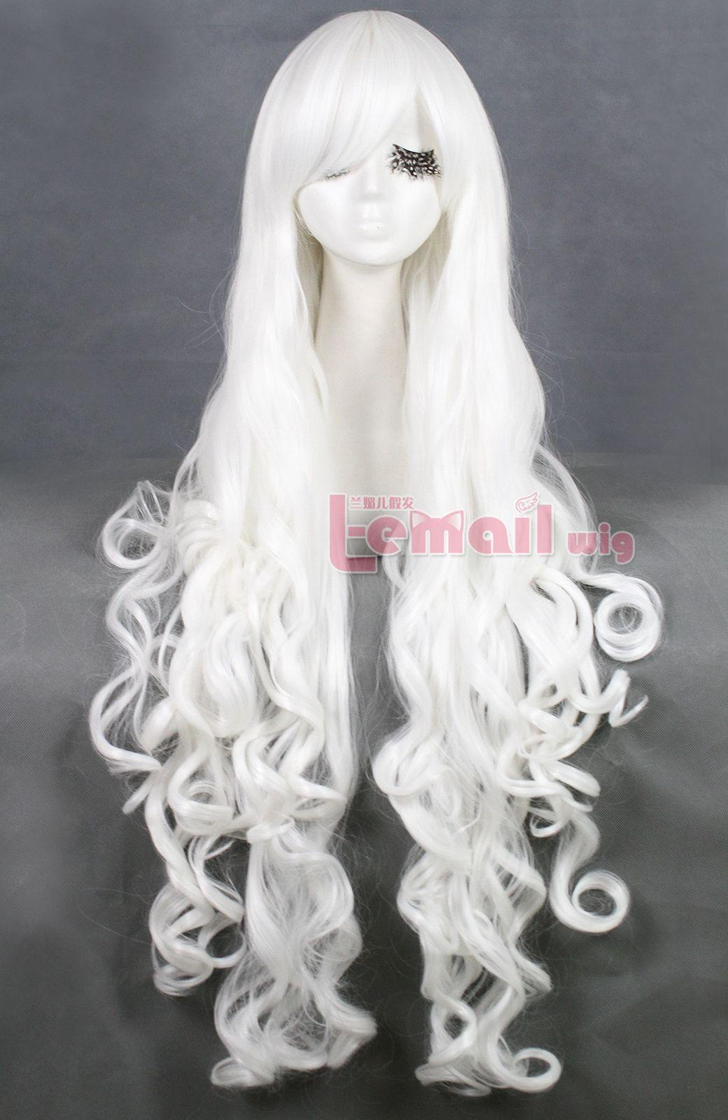 f50c4dabd Long White Wig | 100cm long white body wavy cosplay wig CB64D ...
