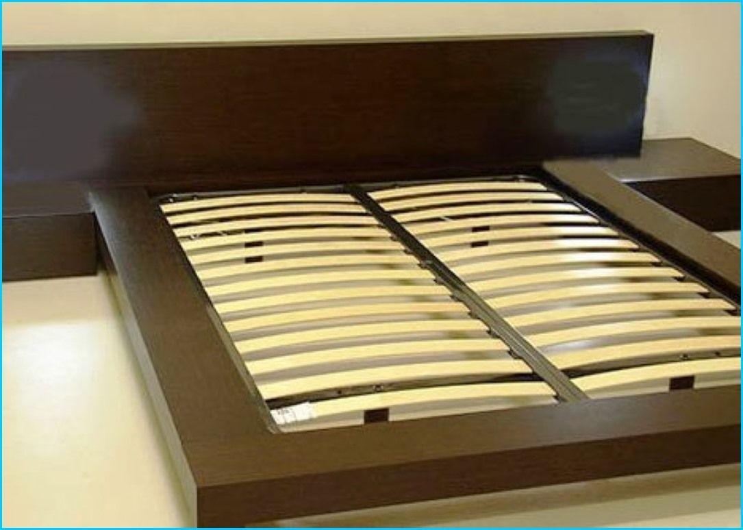 How to build a floating bed frame homebuilddesigns for Floating bed frame