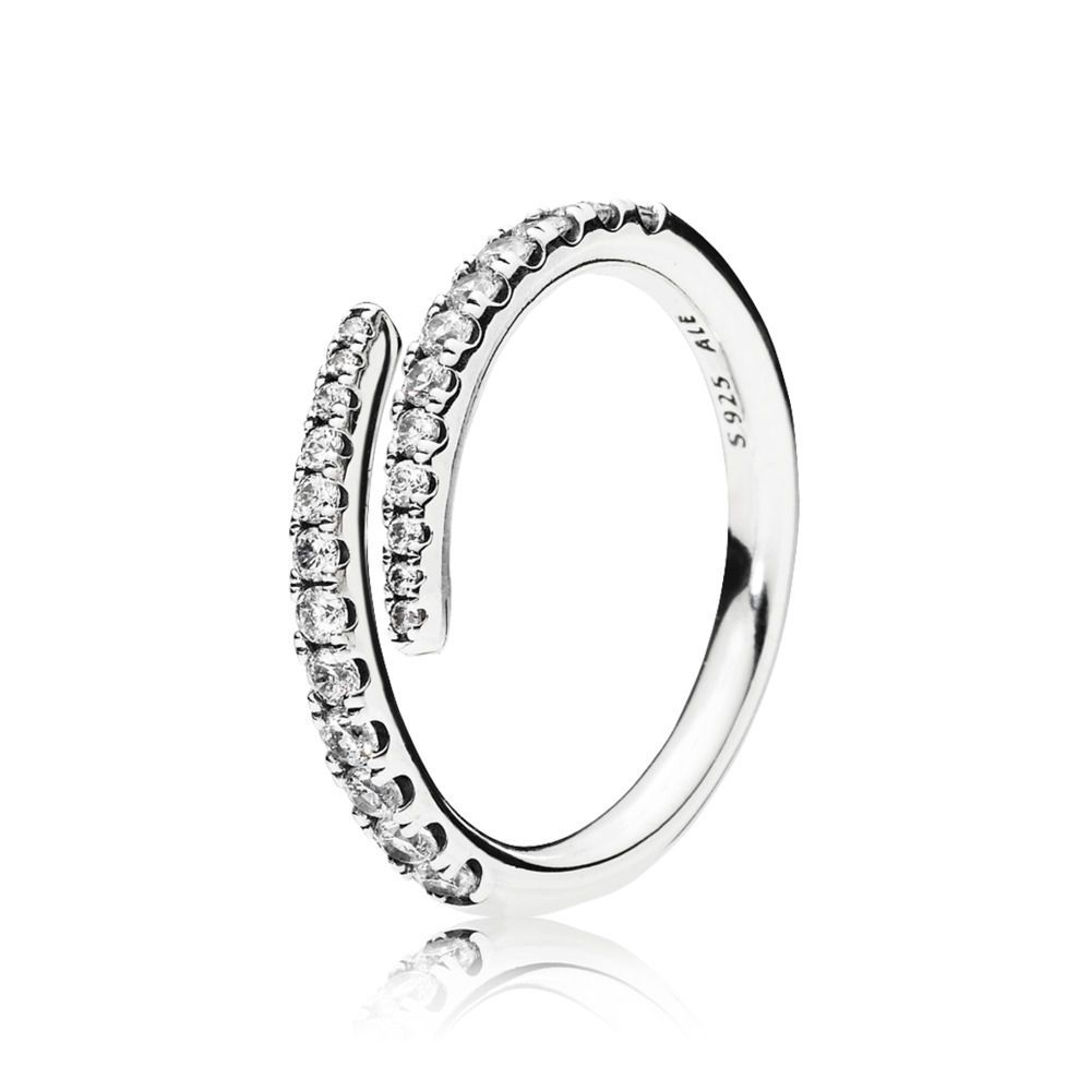 d58ae6963 Pandora Shooting Star Ring - Exceptionally designed, this hand-finished  open ring in sterling silver is a glorious way to add contemporary sparkle  to your ...