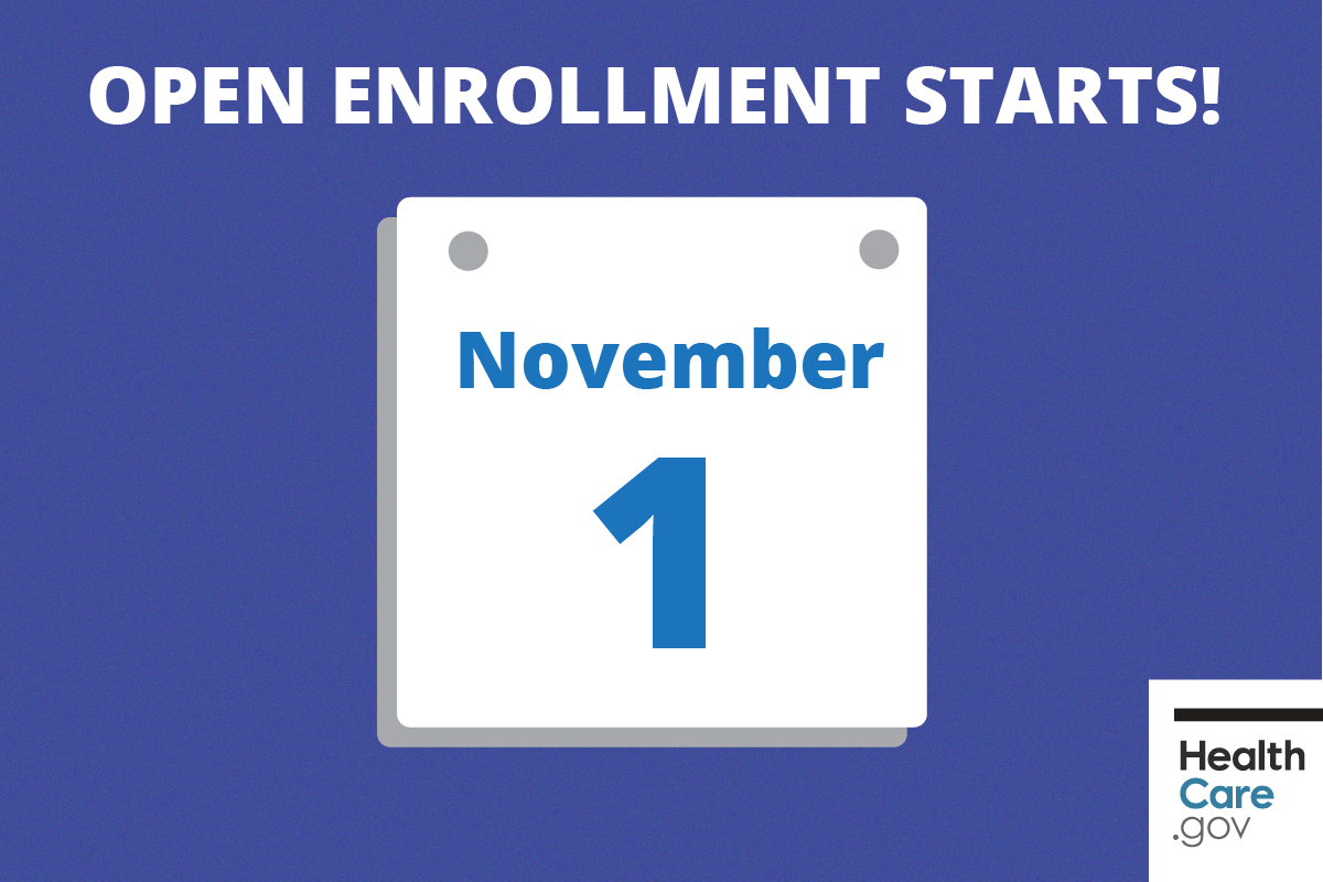 It S Almost Here Open Enrollment For The Healthcare Exchange Is Only About A Health Insurance Coverage Health