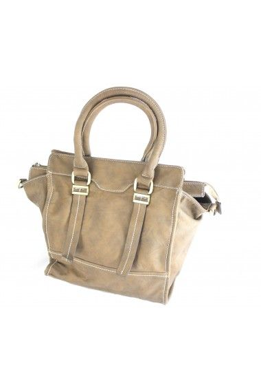 Beeeeeeeeautiful Camel Satchel with golden hardware
