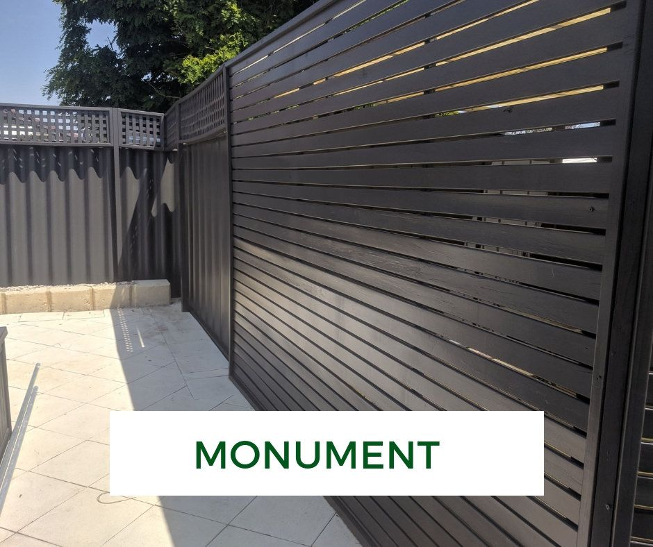 Hardiefence Makeover Monument Privacy Fence Landscaping Fence