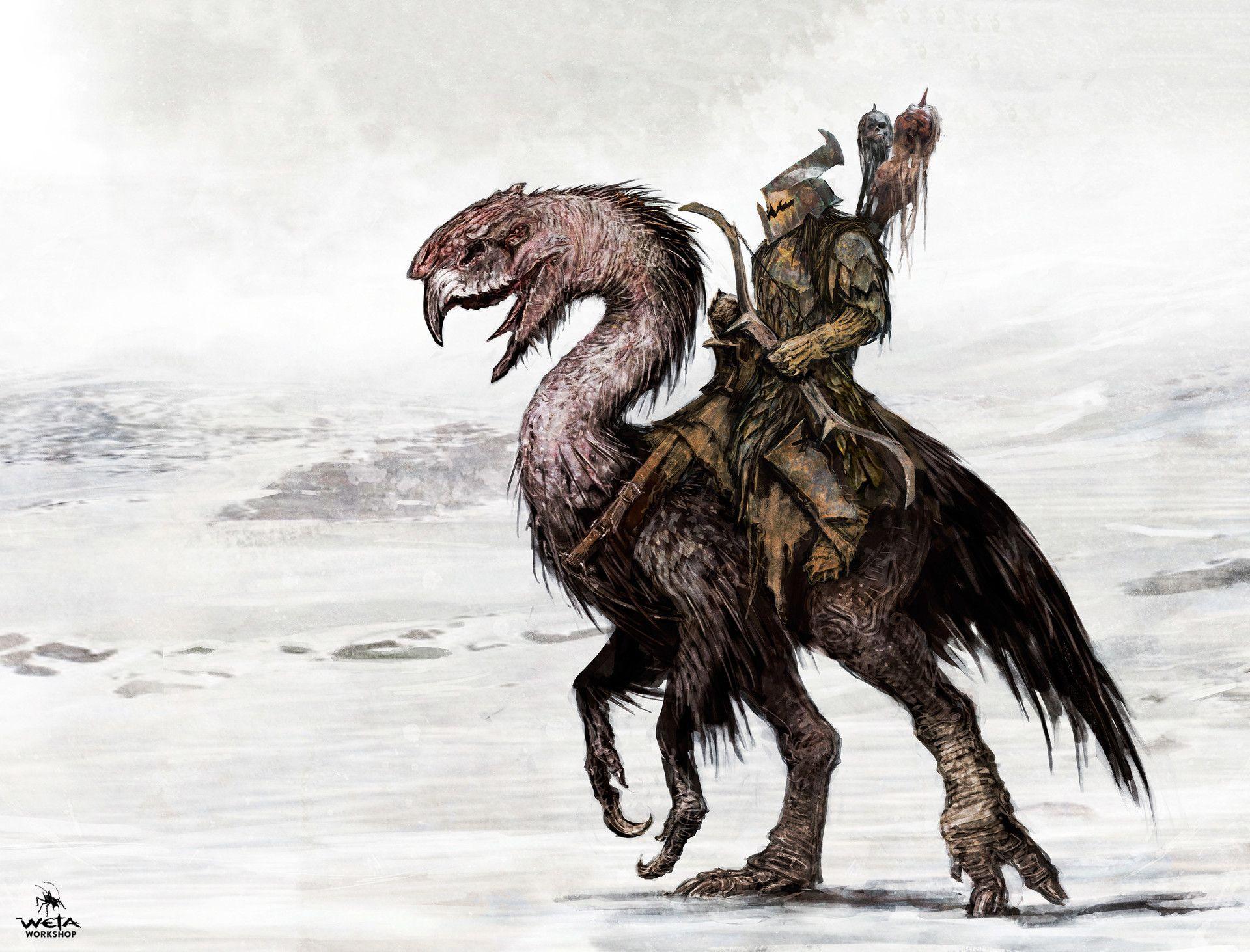 artstation the hobbit battle of five armies orc
