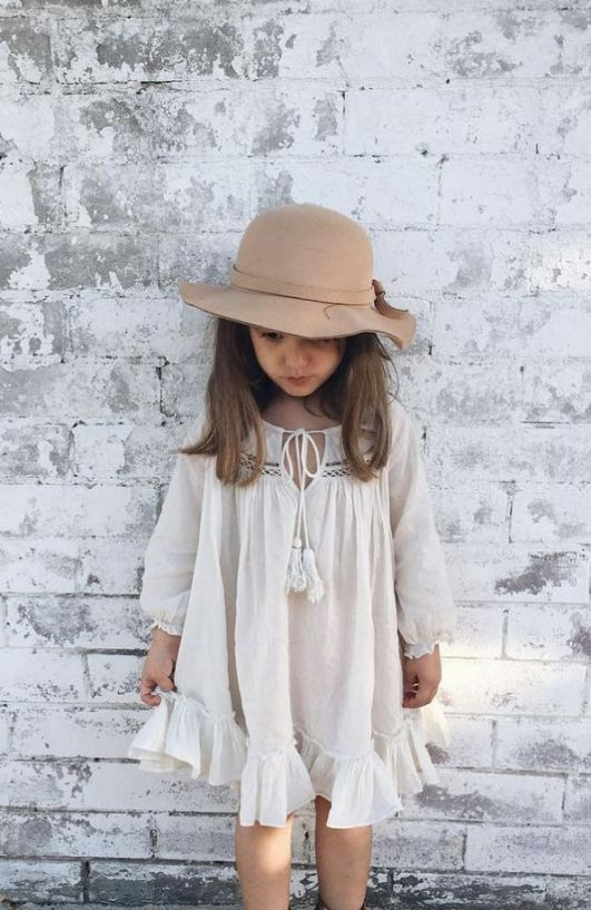 Cute baby girl clothes outfits ideas 10
