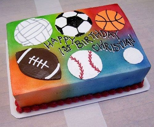 Sport cake recipes