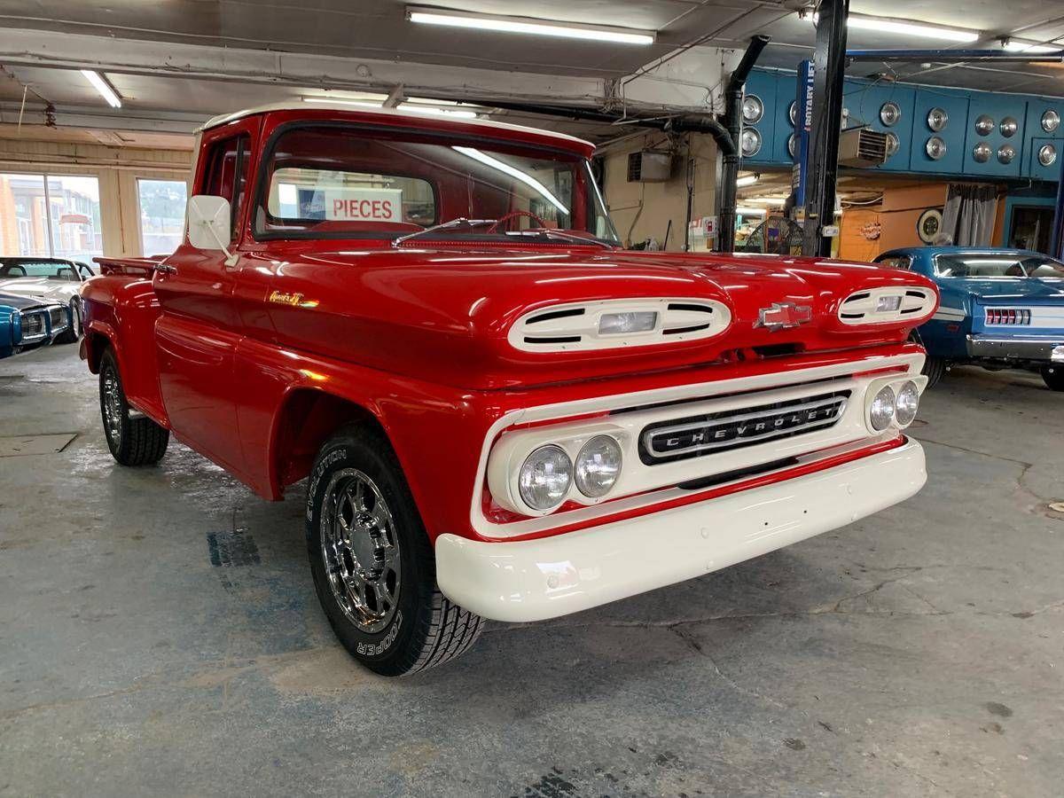 1961 Chevrolet Apache For Sale 2085097 Hemmings Motor News In 2020 Chevrolet Apache Chevy Apache Chevrolet