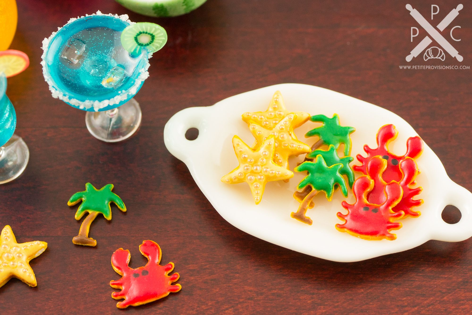 Ganesh images toys  Summer Cookie Assortment  One Dozen  Beach Designs