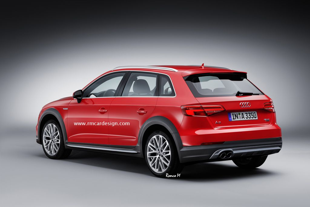 Audi A3 Allroad Quattro > Photoshop renderings by Remco Meulendijk