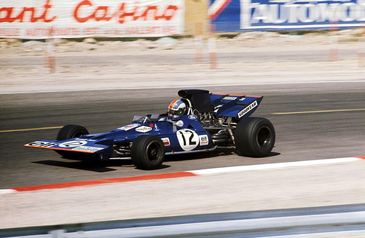 Francois Cevert, TyrrellFord 002, 1971 French GP, Le