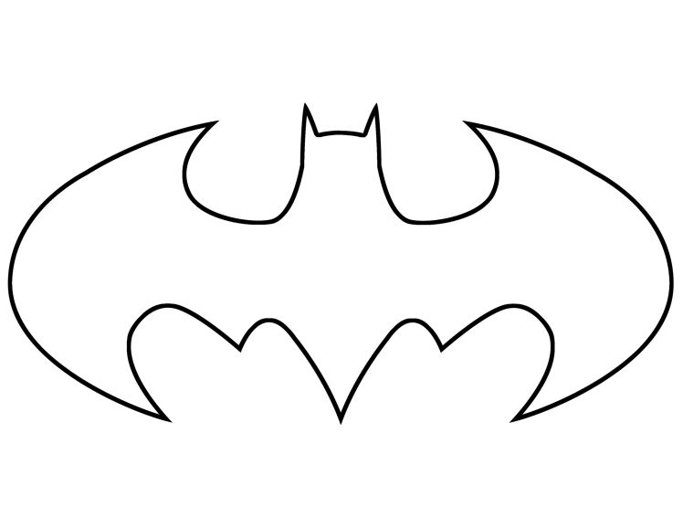 pumpkin template batman  Printable Pumpkin Carving Cutouts For Halloween | Batman ...