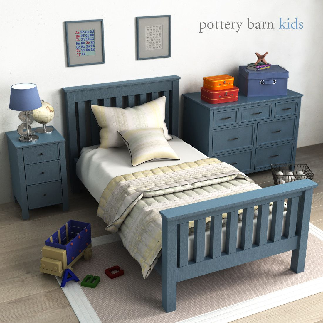 Pottery barn, Elliott Bed Bed, Pottery barn, Toddler bed