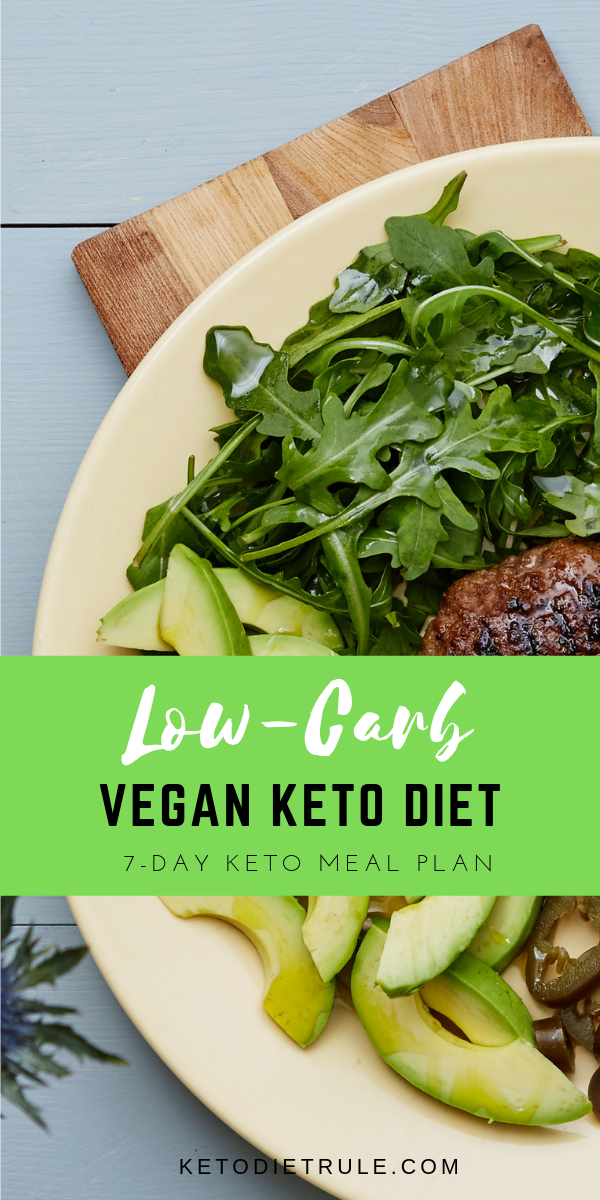 7-Day Vegan Keto Meal Plan for Beginner's to Lose Weight & Burn Fat #ketorecipesforbeginners