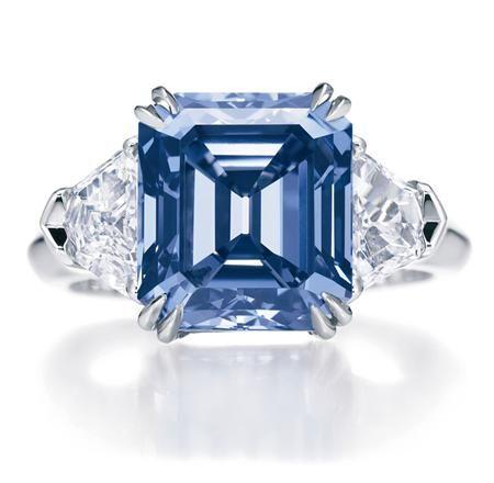 Blue Diamond    Harry Winston