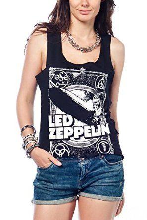 41fcb626 Led Zeppelin Tank Top Women T-shirt at Amazon Women's Clothing store ...