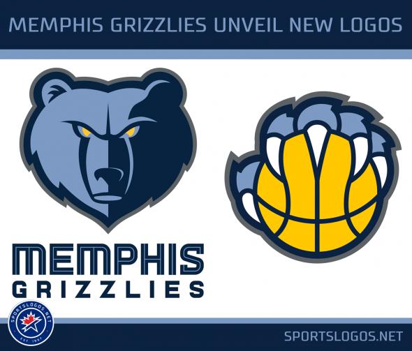a110239fd New Memphis Grizzlies Logos 2018-2019 NBA