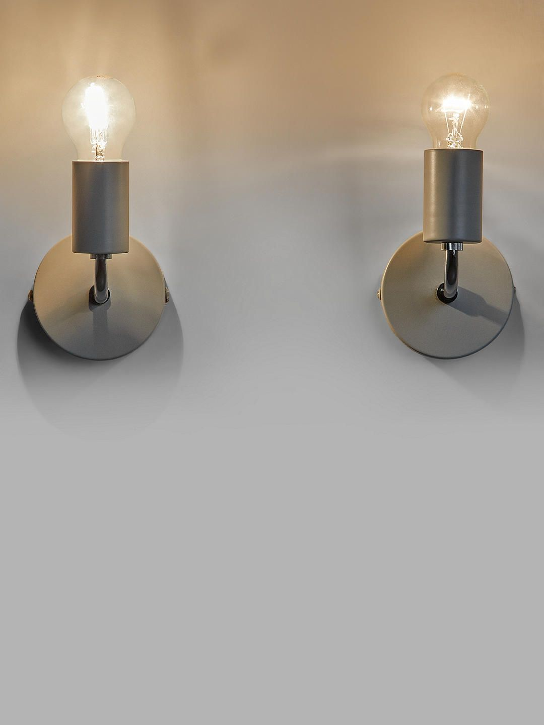 Pair of Modern White Opal Glass Ribbed Detail Wall Light Wall Washer Sconces