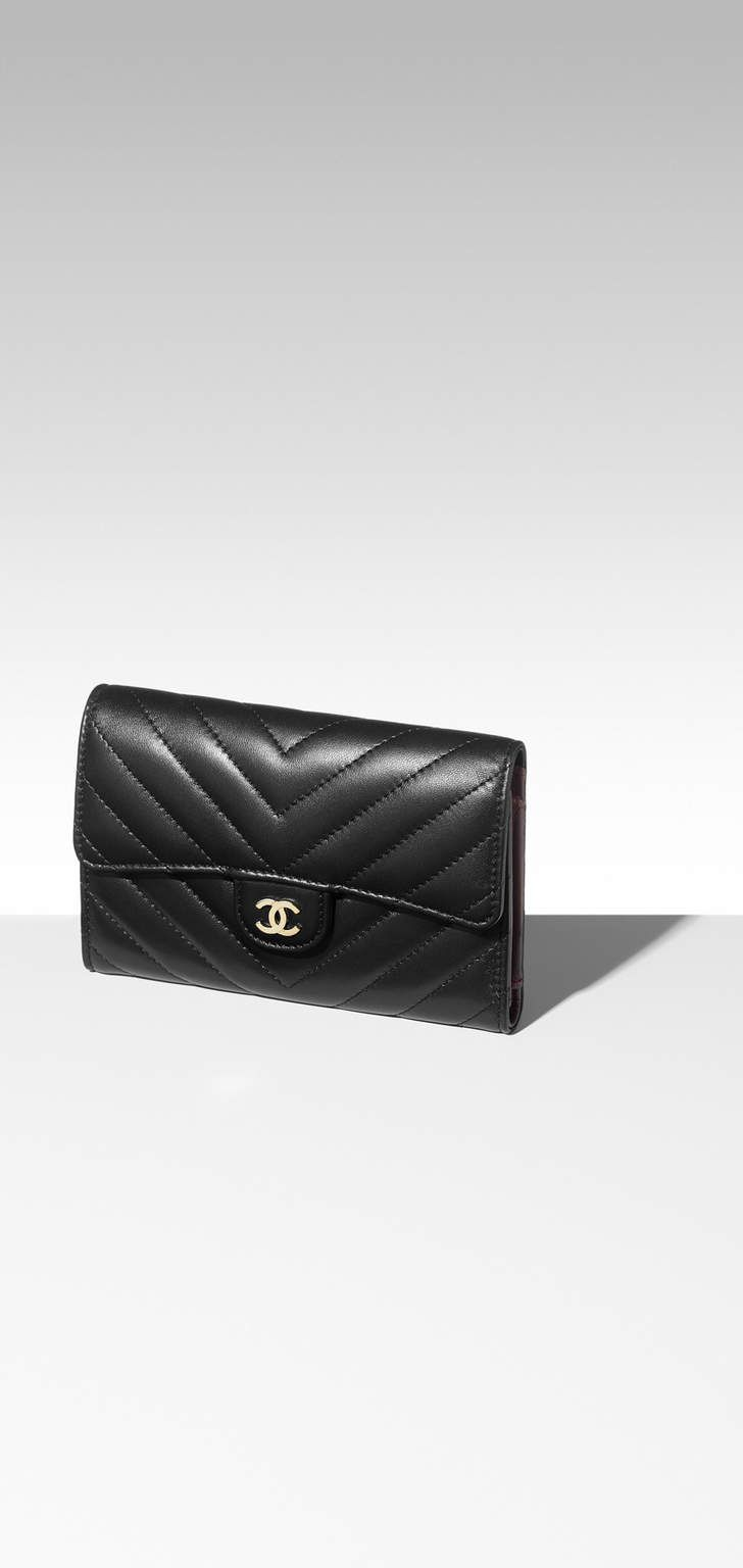 8ddd0735d54f Chanel - FW 2017/2018 PRE Classic Small Flap Wallet | SMALL LEATHER ...