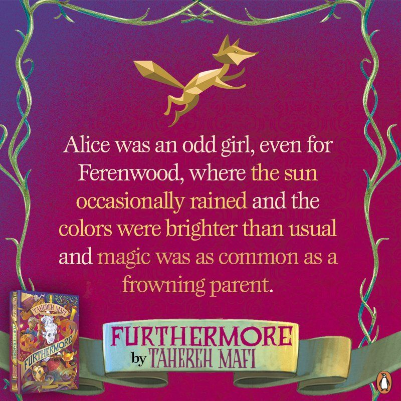 Quote from #Furthermore by Tahereh Mafi