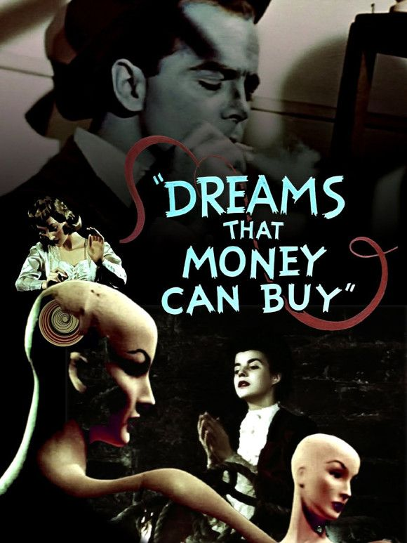 Dreams That Money Can Buy (1947) direct by Hans Richter.  Collaborators included Max Ernst, Marcel Duchamp, Man Ray, Alexander Calder, Darius Milhaud Fernand Léger and it was produced by Kenneth Macpherson and Peggy Guggenheim.
