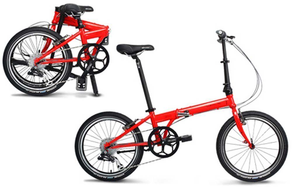 Dahon Speed P8 Folding Bike 1 Great Frame Geometry Makes