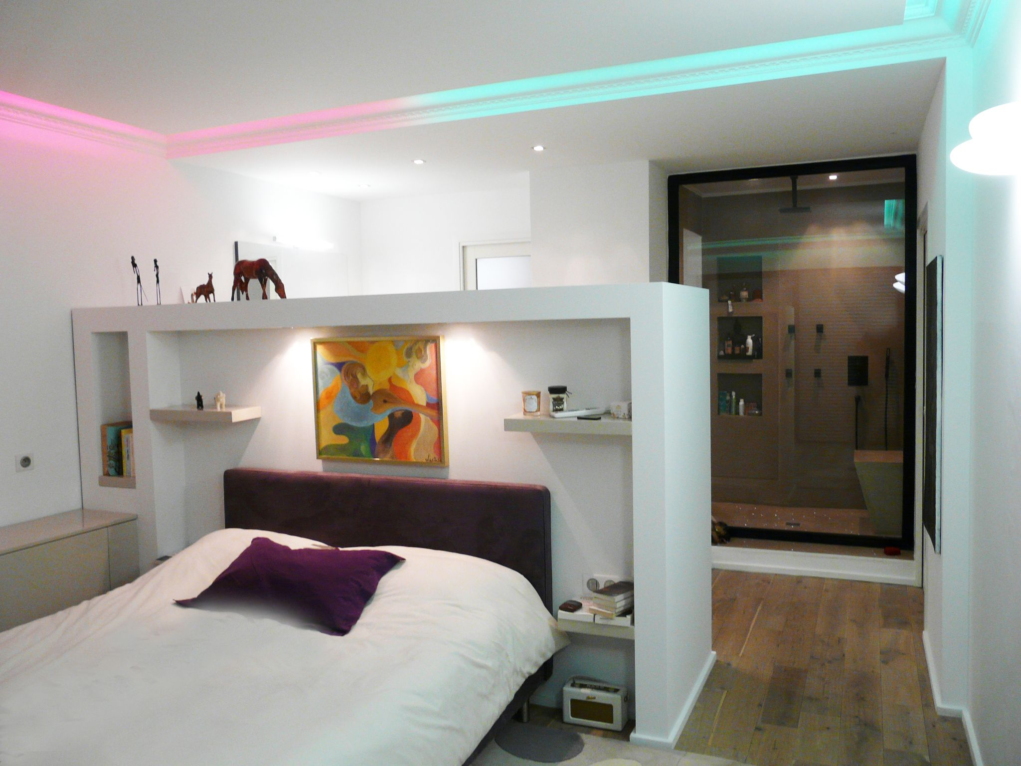 Rénovation - Restructuration complète d\'un appartement - Chambre ...