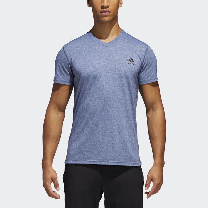 adidas v neck t shirts men's