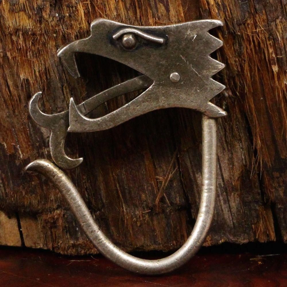 Dragon-headed key chain