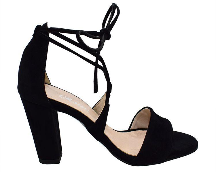 Wygodne Sandaly Z Odkrytymi Palcami Na Slupku Heels Shoes Fashion